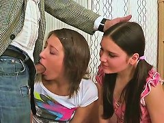 Two Brunette Babes Get Aroused For Some Part1
