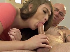 Devilsfilm Remy Rayne Teen Shows Love To Older Man